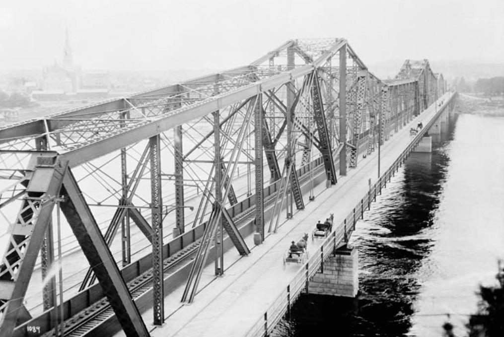 Pont Alexandra, William James Topley, Bibliothèque et Archives Canada