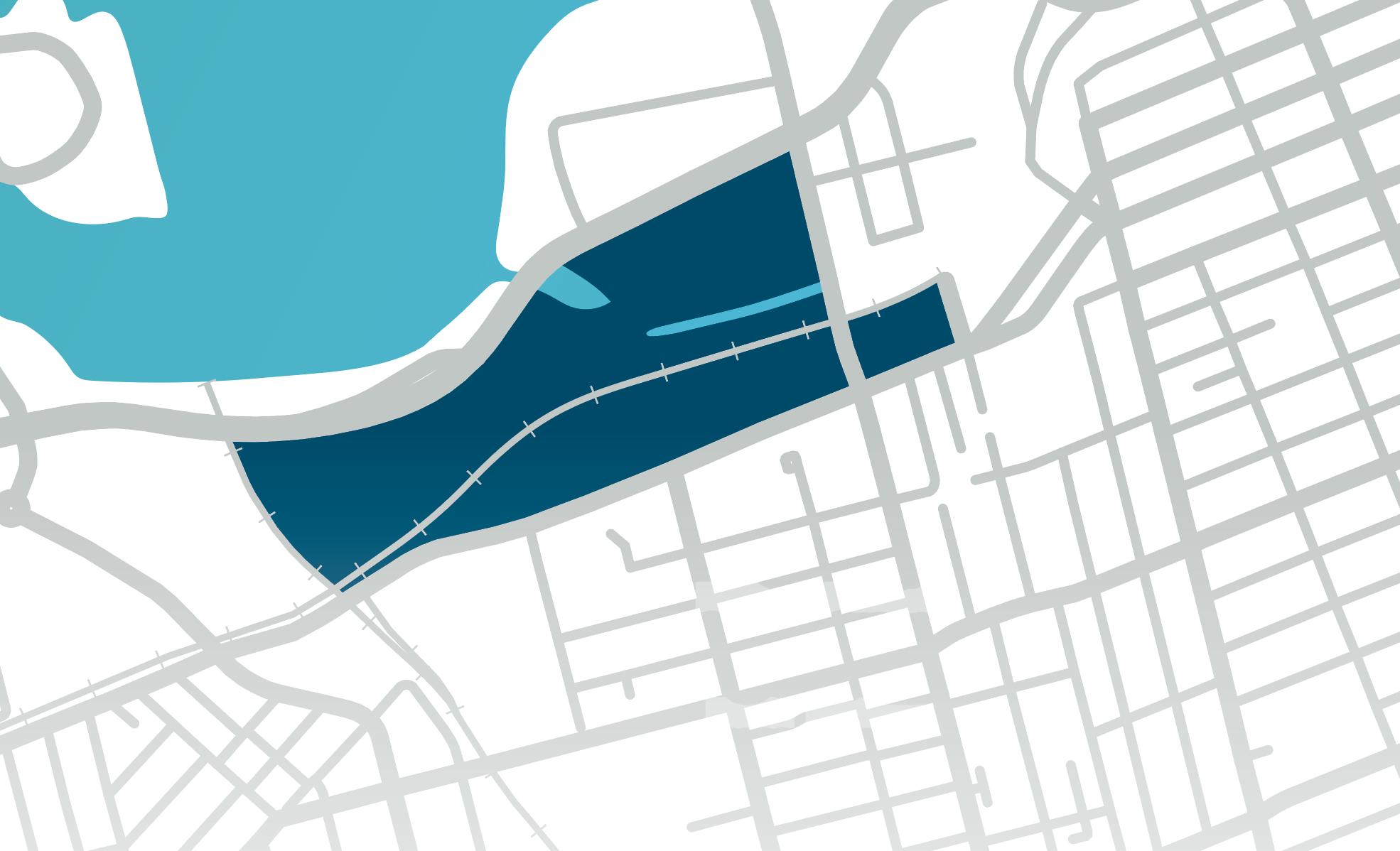 Map for LeBreton