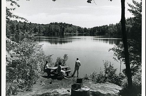 Pink Lake restoration, 1988-1990.