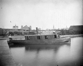 Bassin d'évitage du canal, Bibliothèque et Archives Canada