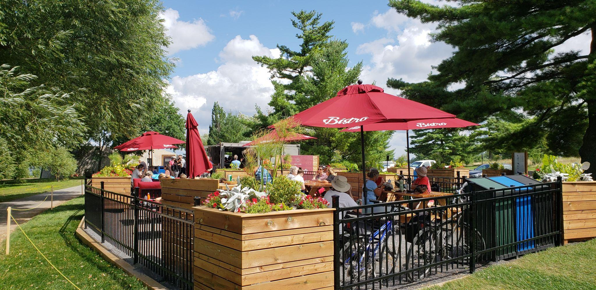 NCC Bistro in Remic Rapids Park