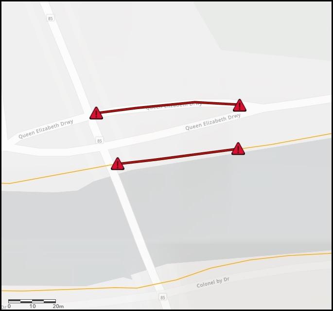 Fermeture partielle de la promenade Reine-Elizabeth et du sentier ouest du canal Rideau