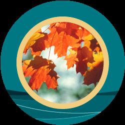 Fall Rhapsody medallion