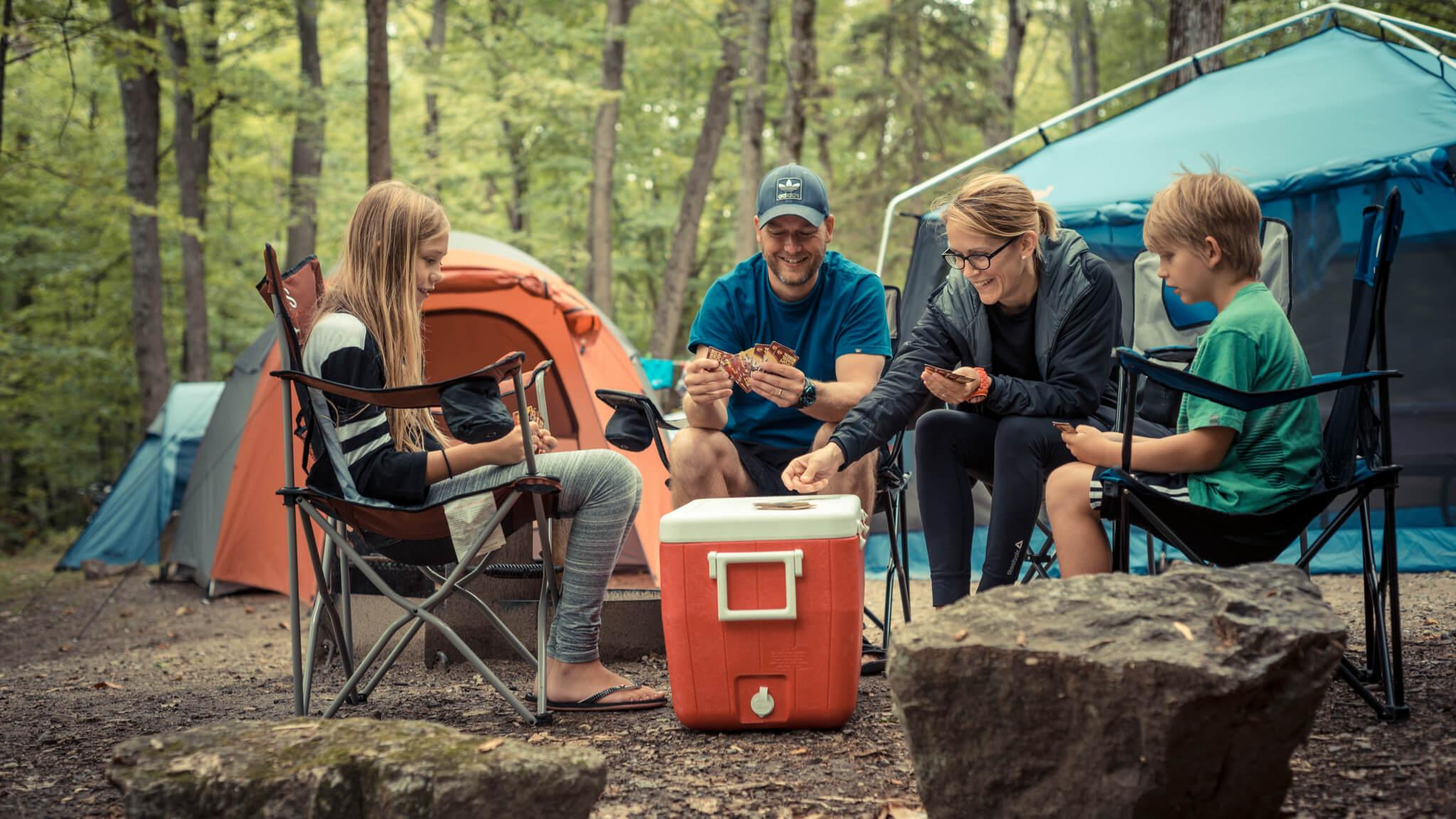 Camping and accommodations in Gatineau Park - National Capital