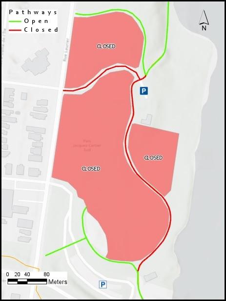 Closure Map - May 5-14