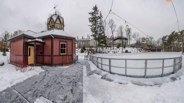 Patinoire et pavillon d'hiver de Rideau Hall