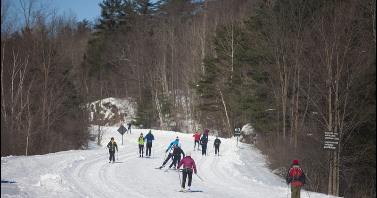Gatineau Park  Cross-Country Ski Routes - National Capital Commission 350220113