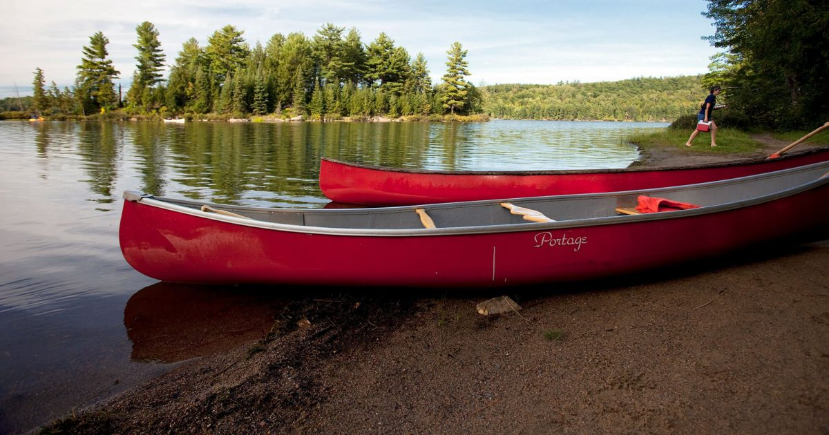 Boating in Gatineau Park - National Capital Commission