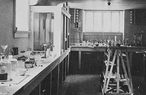 Le laboratoire de Willson - Crédit : Société historique de la Vallée de la Gatineau