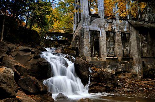 Les ruines en automne