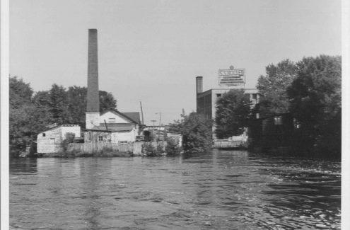 Ruisseau de la Brasserie. Août 1948. Crédit : Collection Gréber de la Commission de la capitale nationale
