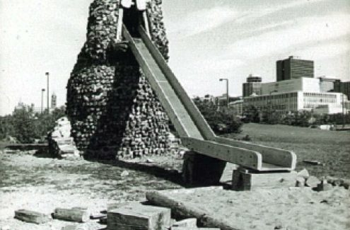Beaver Slide, Victoria Island. September 1979. Credit: National Capital Commission