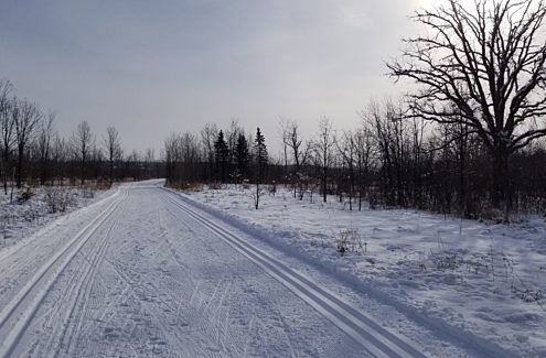 Ski Heritage East Winter Trail.