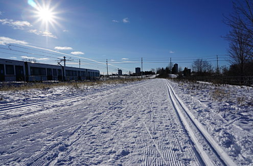 During the 2021 winter season, Segment 2 of the future pathway alignment will be groomed as part of the SJAM winter trail as a pilot project