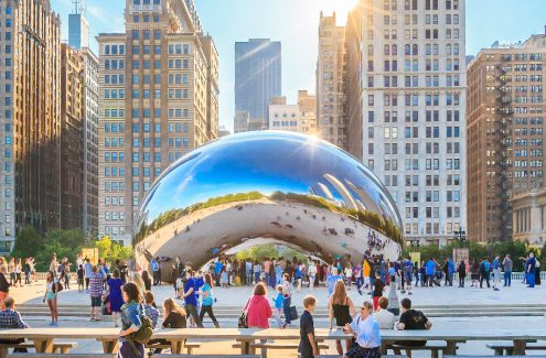 Millennium Park - Chicago, Illinois : https://netdna-ssl.com/