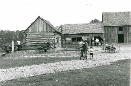 Log Farm. Credit: National Capital Commission
