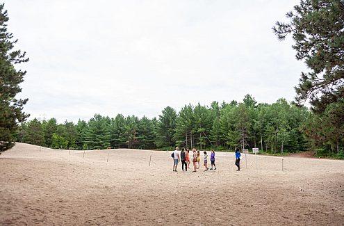 Les dunes de la forêt Pinhey