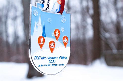 #WinterCapital Trail Network Challenge 2021 Medal