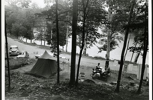 The first campground in Gatineau Park.
