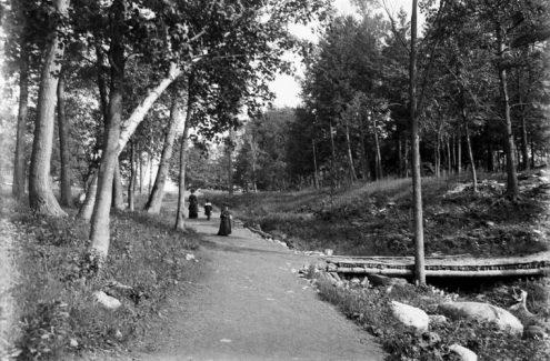 Parc de Rockcliffe. 10 juin 1902. Crédit : James Ballantyne / Bibliothèque et Archives Canada / PA-133417