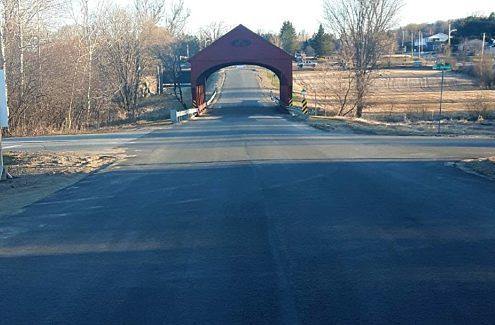 La voie d'accès au lac Philippe est à toutes fins pratiques achevée.