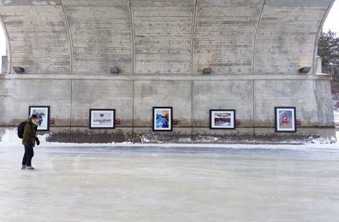 Skateway memories photo exhibit