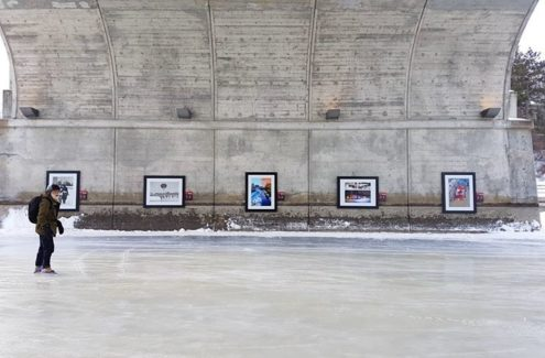 Skateway memories photo exhibit