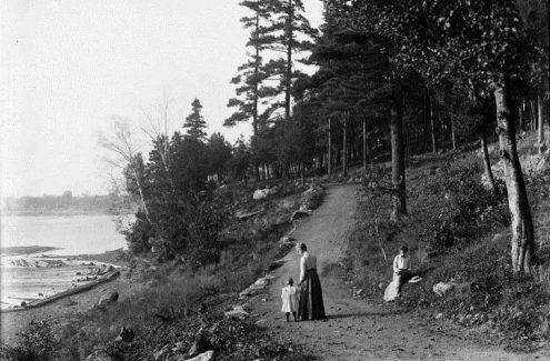 Parc de Rockcliffe. 1er octobre 1901. Crédit : James Ballantyne / Bibliothèque et Archives Canada / PA-133404