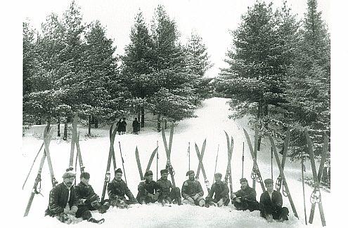 La présence du club de ski d'Ottawa.