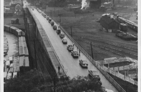 Viaduc de la rue Wellington. Crédit : Collection Gréber de la Commission de la capitale nationale