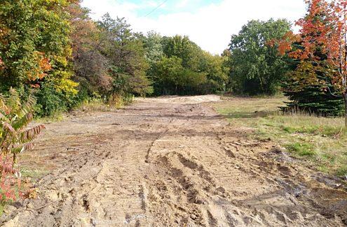 Site 4 (before): Bare ground, no vegetation