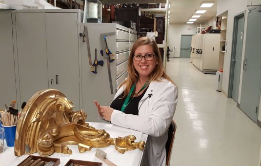 Conserving the Crown Collection for Future Generations