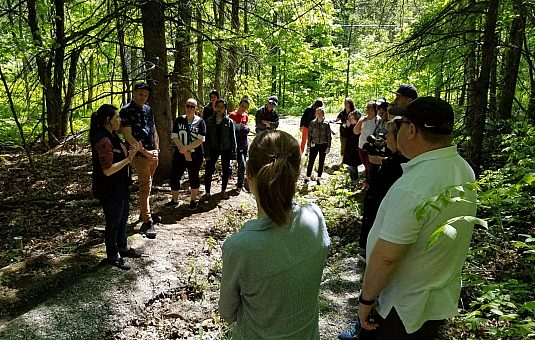 Trois projets de biologie au parc de la Gatineau