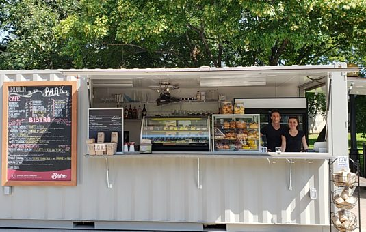 Behind the Scenes: Bistro in Confederation Park