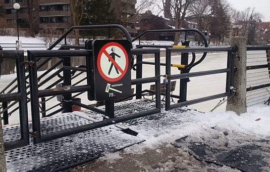 Closure - Rideau Canal Skateway