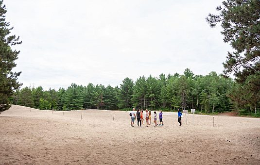 Bringing the Pinhey Sand Dunes back to life