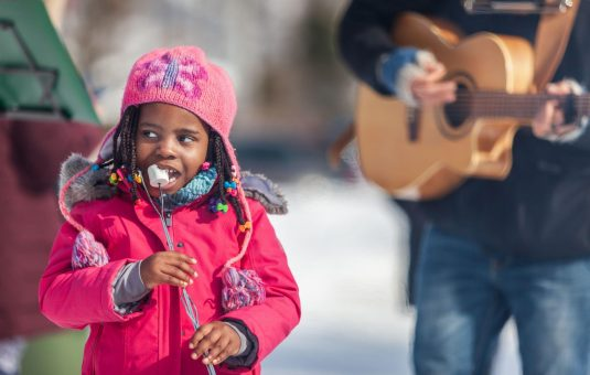 Learning to love the Canadian winter: Immersion for new Canadians