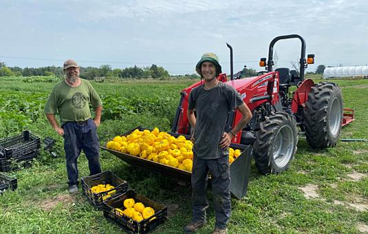 Mike's Garden Harvest : une ferme locale durable à la fibre communautaire