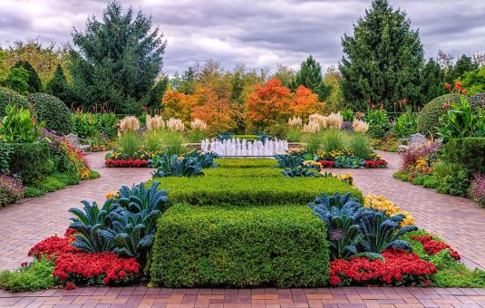 Jardins et villes saines