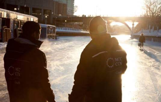 Rideau Canal Skateway: Behind The Ice