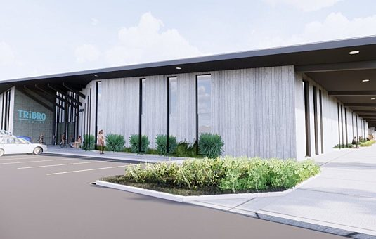 Rendering of the film production facility in the Greenbelt
