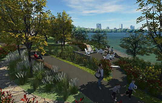 Proposed design - Westboro Beach