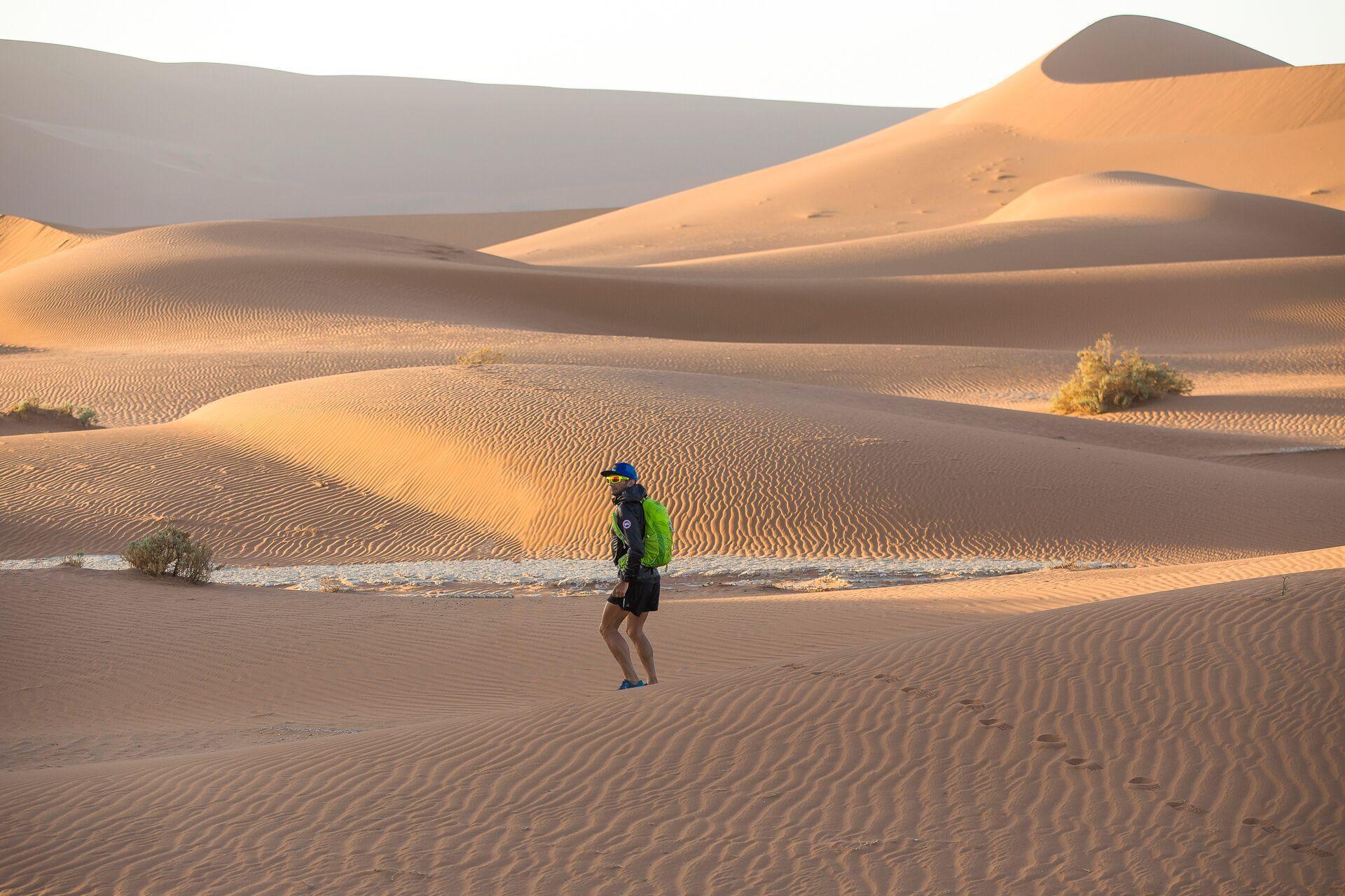 Ray in the Sahara Desert